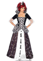 Leg Avenue Female 2PC.Wonderland Chess Queen Costume 85572