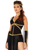 Leg Avenue Female 3PC. Divine Dark Goddess Costume 86711