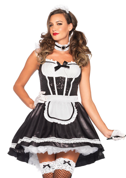 Leg Avenue Female 3PC.Fiona Featherduster Costume 85380