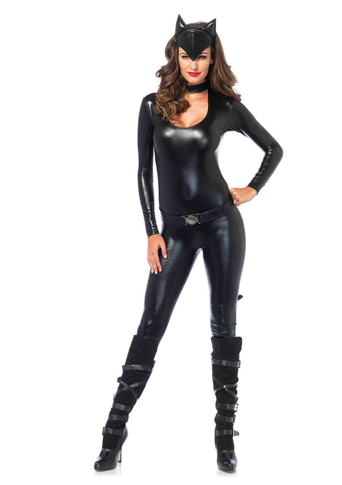 Leg Avenue Female 3PC.Frisky Feline Costume 83767