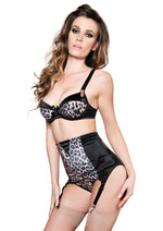 Leg Avenue Female 3PC.Padded Underwire Leopard Print Bra 81434