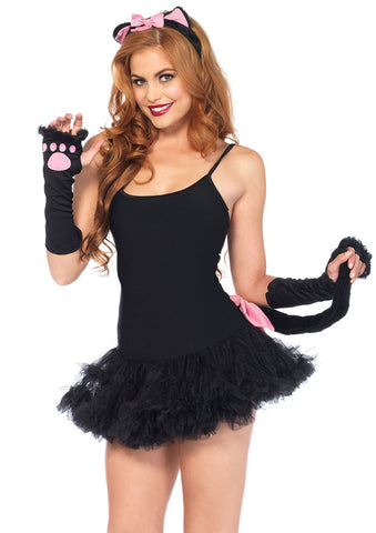 Leg Avenue Female 3Pc.Pretty Kitty Accessory Kit 2056