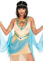 Leg Avenue Female 3PC.Queen Cleopatra Costume 86677