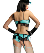 Leg Avenue Female 3PC.Shimmy Set 86376