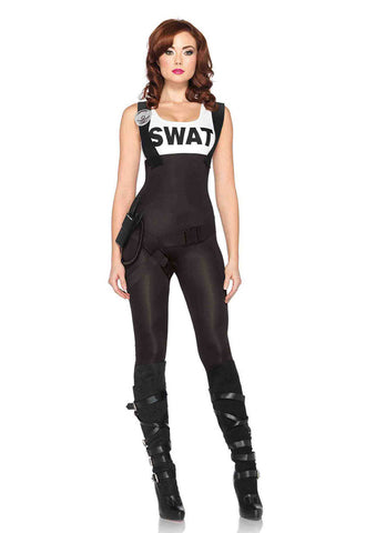 Leg Avenue Female 3PC.SWAT Bombshell Costume 85168