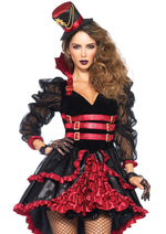 Leg Avenue Female 3PC.Victorian Vamp Costume 85399