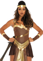 Leg Avenue Female 4 PC. Golden Gladiator Costume 86671