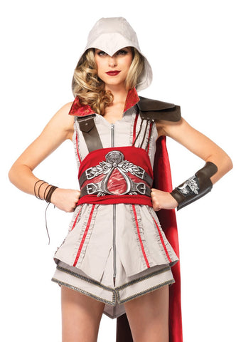 Leg Avenue Female 4PC. Assasin's Creed Ezio Girl Costume AS85342
