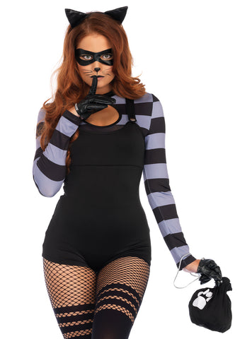 Leg Avenue Female 4PC.Cat Burglar Costume 86715