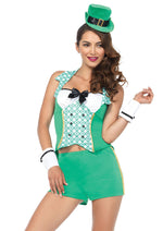 Leg Avenue Female 4PC.Darlin' Leprechaun Costume 86167
