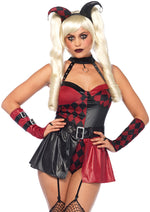 Leg Avenue Female 4PC.Deviant Darling Costume 85548