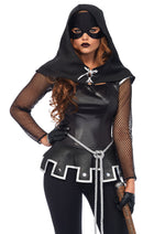 Leg Avenue Female 4PC.Grim Executioner Costume 85570