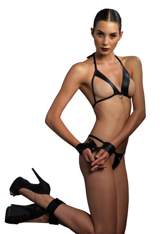 Leg Avenue Female 4PC.Open Cup Bra KI4001