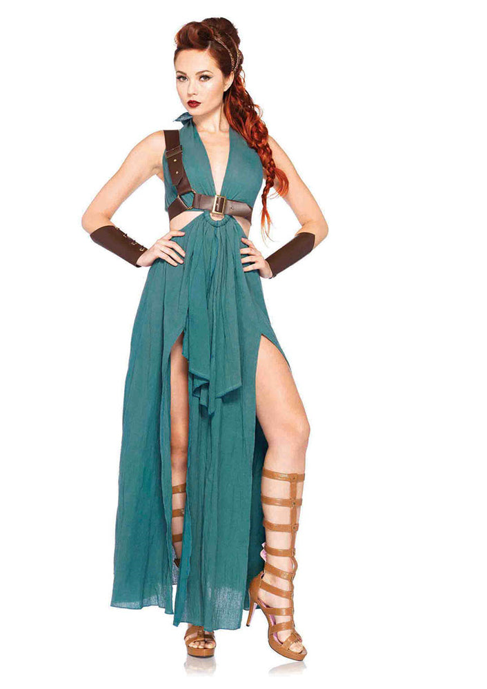 Leg Avenue Female 4PC.Warrior Maiden Costume 85036