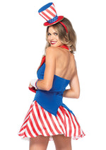 Leg Avenue Female 4PC.Yankee Doodle Darlin' Costume 86170