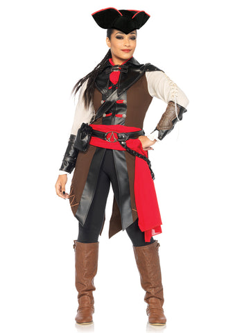 Leg Avenue Female 9PC. Assassin's Creed Aveline Costume AS85520