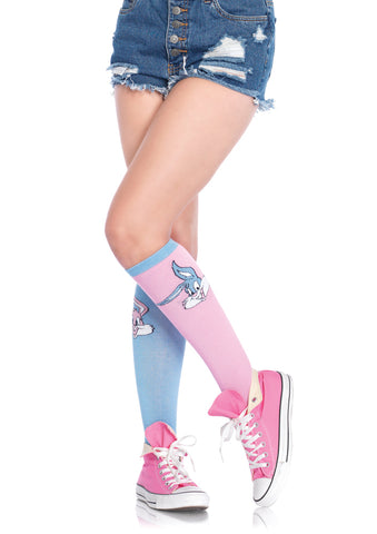 Leg Avenue Female Babs And Buster Acrylic Knee Socks TT5612