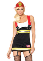 Leg Avenue Female Backdraft Babe Costume 83626