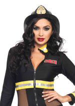 Leg Avenue Female Black Fireman Hat A1520