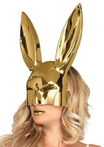 Leg Avenue Female Chrome See-Thru Bunny Mask A1533