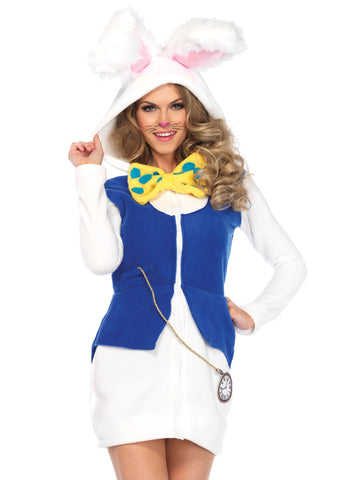Leg Avenue Female Cozy White Rabbit Costume 85591