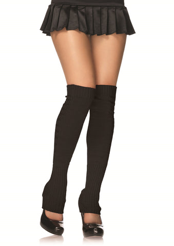 Leg Avenue Female Extra Long Ribbed Knit Leg Warmers 3913