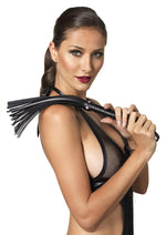 Leg Avenue Female Faux Leather Flogger With Mini Heart Detail KI2004