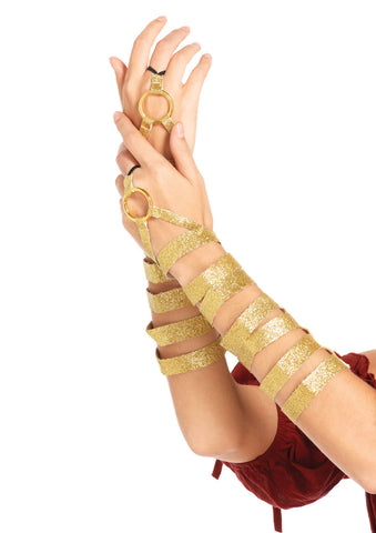 Leg Avenue Female Golden Arm Wraps 2728