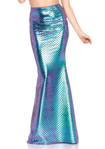 Leg Avenue Female Iridescent Scale Mermaid Skirt 86710