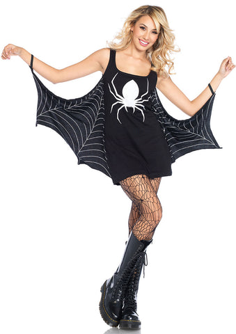 Leg Avenue Female Jersey Spiderweb Dress Costume 86647
