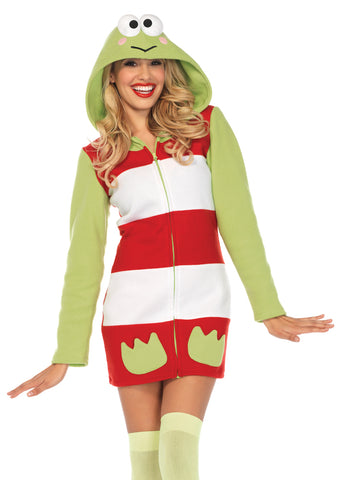 Leg Avenue Female Keroppi Cozy Costume HK86652  sc 1 st  UTrend Fashion & Collections u2013 utrendfashion.com