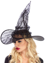 Leg Avenue Female Lace Witch Hat. A2802