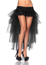 Leg Avenue Female Long Tulle Bustle Skirt W/Satin Bow Accents A1698