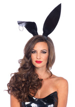 Leg Avenue Female Oversized Wet Look Bendable Pierced Bunny Ears A2737
