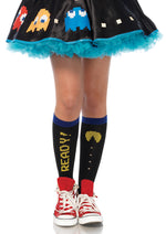 Leg Avenue Female Pac Man Acrylic Knee Highs PM5613