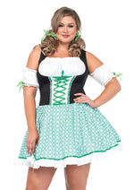 Leg Avenue Female Plus Size 2PC. Clover O'cutie Costume 86168X