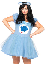 Leg Avenue Female Plus Size 2PC.Grumpy Bear Costume CB85361X