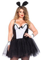 Leg Avenue Female Plus Size 4PC.Curvy Bunny Costume 85484X