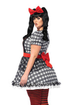 Leg Avenue Female Plus Size 4PC.Darling Babydoll Costume 85599X