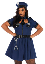 Leg Avenue Female Plus Size 5PC.Flirty Cop Costume 86681X