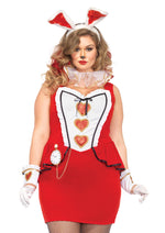 Leg Avenue Female Plus Size 5PC.Tea Party Bunny Costume 85488X