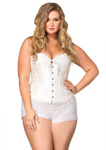 Leg Avenue Female Plus Size Sasha Corset 86548Q