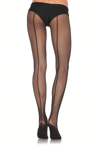 Leg Avenue Female Professional Backseam Fishnet W/Comfort Sole PD802