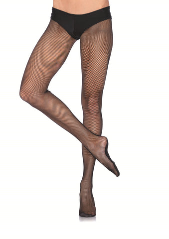 Leg Avenue Female Professional Fishnet Tights W/Nylon/Cotton Sole PD801