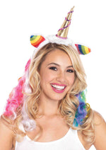 Leg Avenue Female Rainbow Unicorn Headband A1962