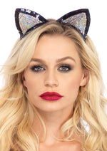 Leg Avenue Female Sequin Cat Ears A2793