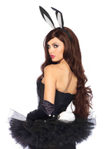 Leg Avenue Female Sequin Texudo Corset 2654