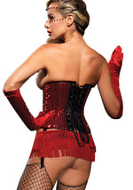 Leg Avenue Female Sequin Underbust Corset 86507
