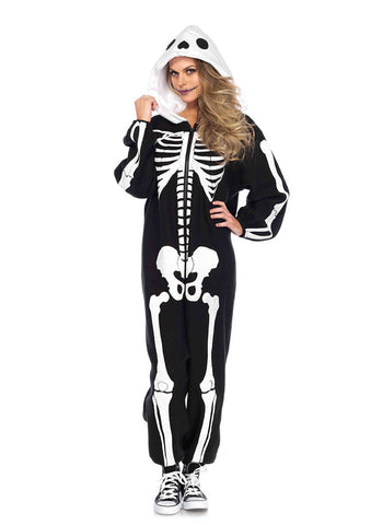 Leg Avenue Female Skeleton Kigarumi Funsie Costume 85608