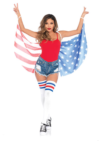 Leg Avenue Female Stars & Stripes Wings A2797